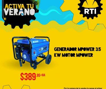 Compra tu generador 3.5kw