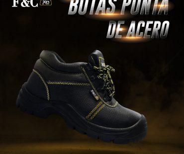 Botas de seguridad punta de acero